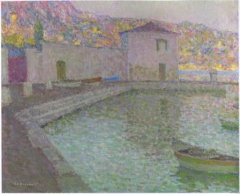 House by the Sea | Henri Le Sidaner | oil painting