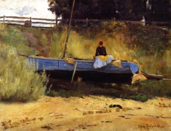 Mending the Walls | Tom Roberts | oil painting