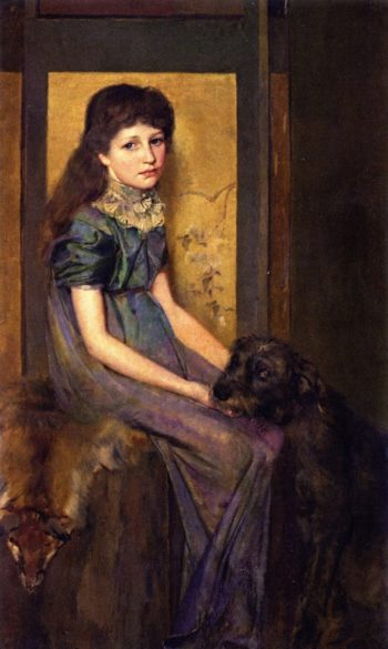 Blue Eyes and Brown | Tom Roberts | oil painting