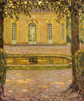 Le Pavillon Francais Versailles | Henri Le Sidaner | oil painting