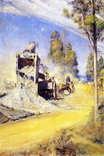 Country Road Makers | Tom Roberts | oil painting