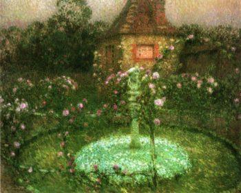 Le Pavillon | Henri Le Sidaner | oil painting