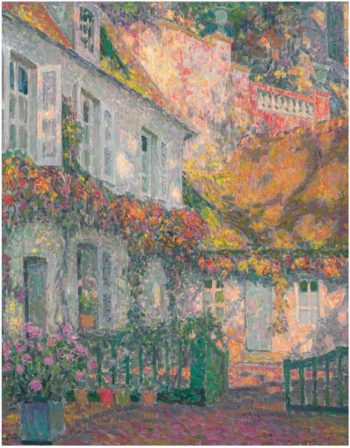 Mansion in the Afternoon | Henri Le Sidaner | oil painting