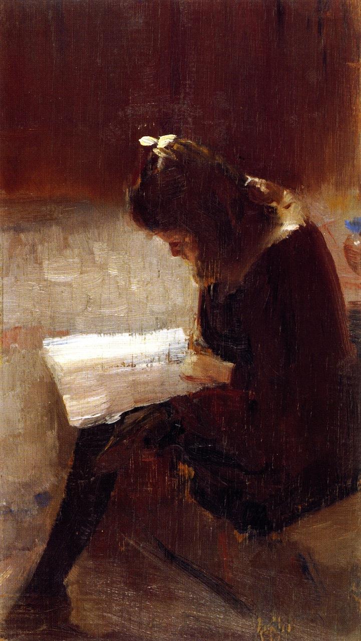 Harpers Weekly | Tom Roberts | oil painting