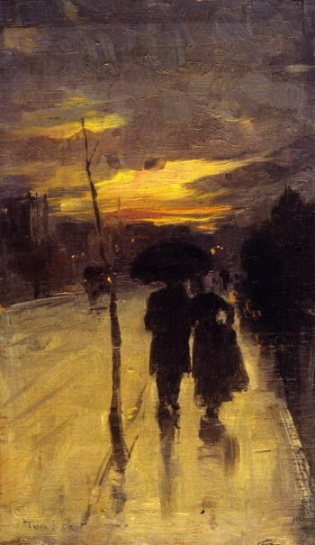Going Home | Tom Roberts | oil painting