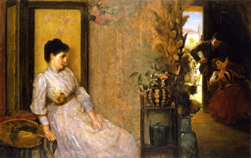Jealousy | Tom Roberts | oil painting