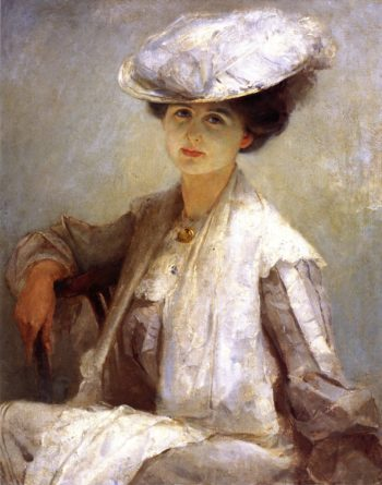 Grey Lady | Tom Roberts | oil painting