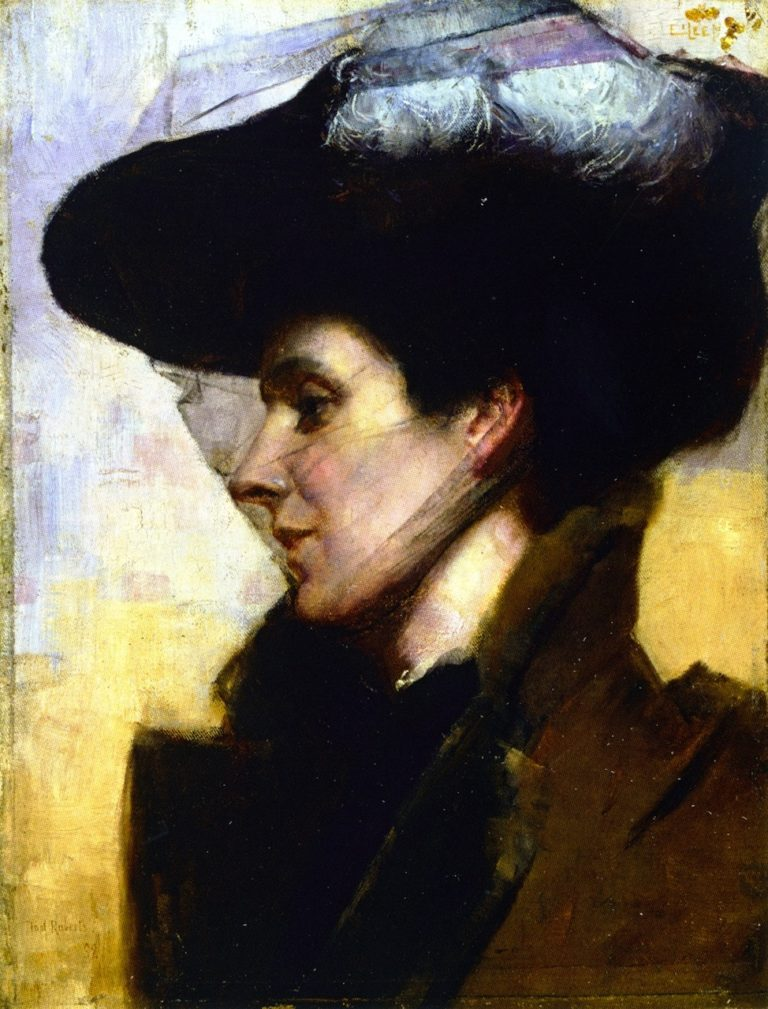Eileen | Tom Roberts | oil painting