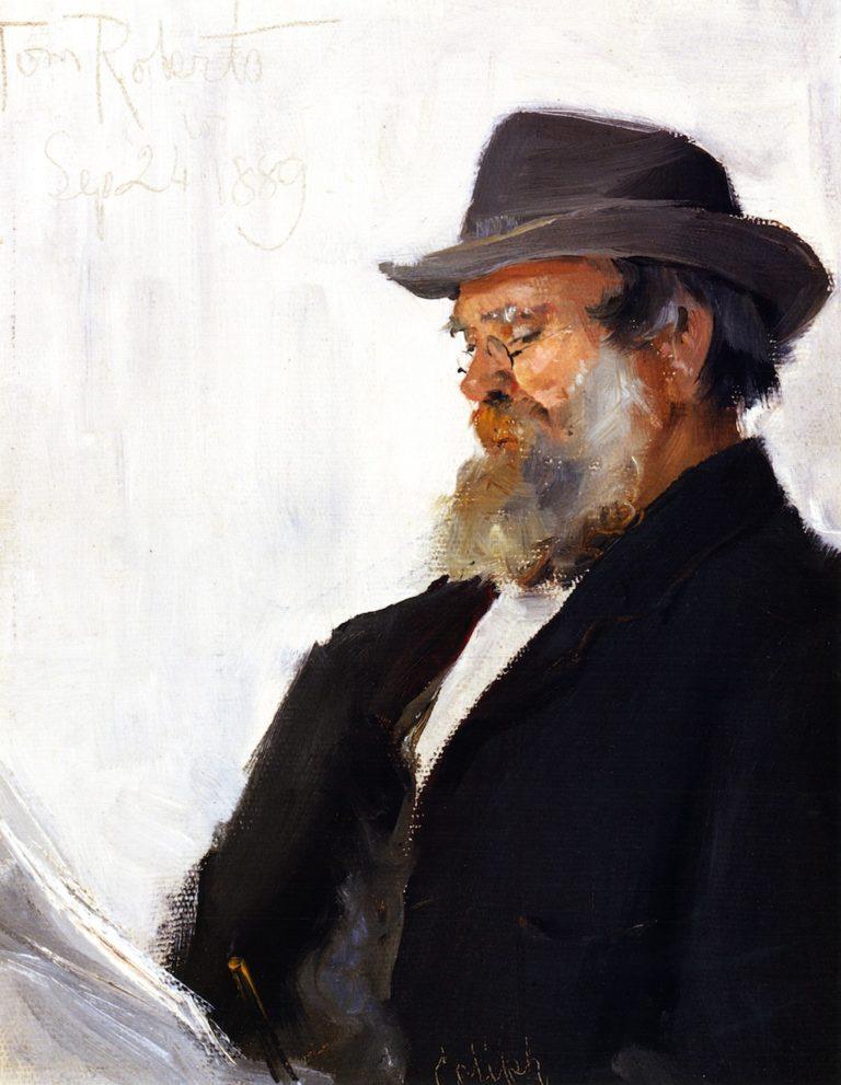 Alexander Augustus Anderson   Tom Roberts   oil painting