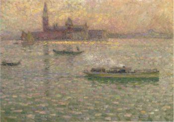 San Giorgio at Maggiore Venice | Henri Le Sidaner | oil painting