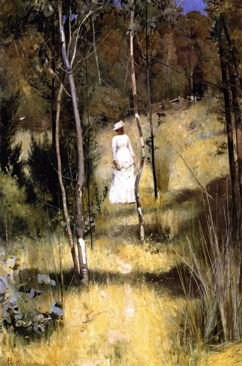 A Summer Morning Tiff | Tom Roberts | oil painting