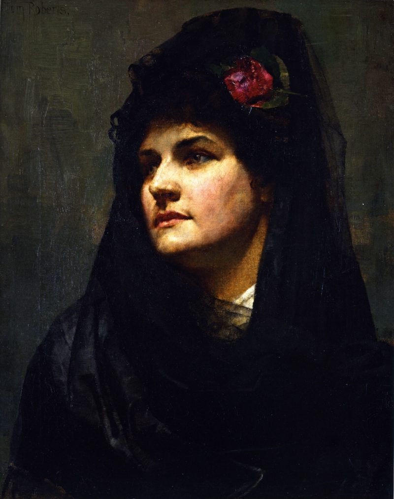 A Spanish Beauty | Tom Roberts | oil painting
