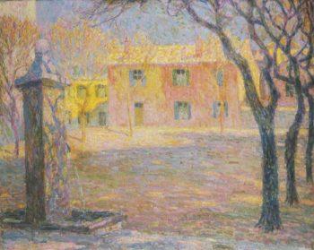 Small Villa | Henri Le Sidaner | oil painting