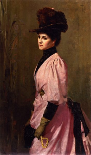 An Australian Native | Tom Roberts | oil painting