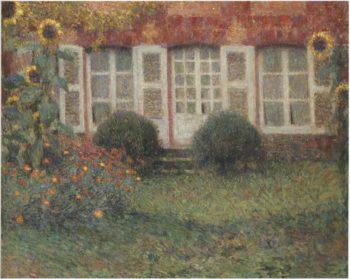 Sunflowers | Henri Le Sidaner | oil painting
