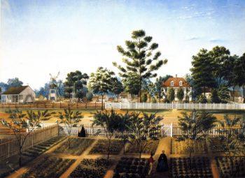 Bois de Fleche | Marie Adrien Persac | oil painting