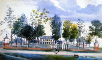 Hope Estate | Marie Adrien Persac | oil painting