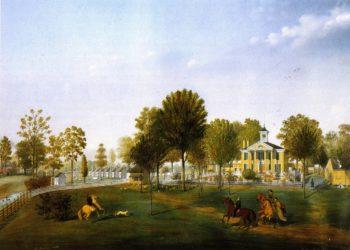 Ile Copal | Marie Adrien Persac | oil painting