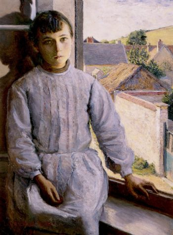 Angela | Lilla Cabot Perry | oil painting