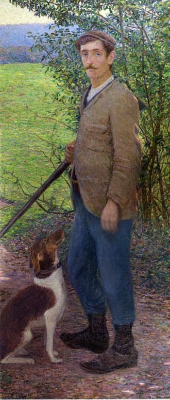 The Hunter | Lilla Cabot Perry | oil painting