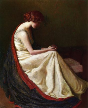 The Chrystal Gazer | Lilla Cabot Perry | oil painting