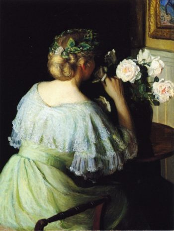 Scent of Roses | Lilla Cabot Perry | oil painting