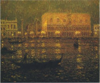 The Ducal Palace 1 | Henri Le Sidaner | oil painting