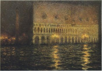 The Ducal Palace | Henri Le Sidaner | oil painting