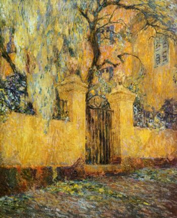 The Gates of Morning's Release | Henri Le Sidaner | oil painting