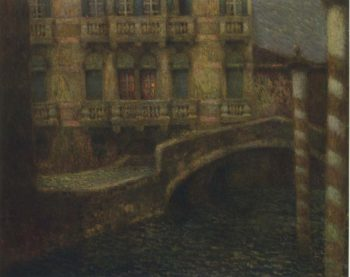 The Gray Palace | Henri Le Sidaner | oil painting