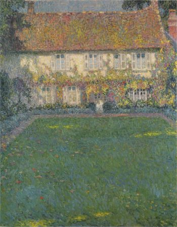 The House in Autumn | Henri Le Sidaner | oil painting