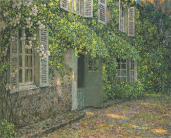 The House in Summer | Henri Le Sidaner | oil painting
