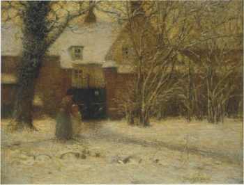 The House | Henri Le Sidaner | oil painting