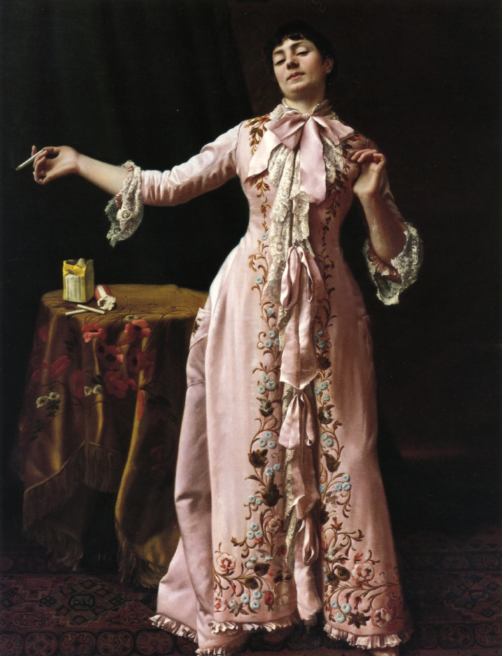 A Liberated Woman | John George Brown | oil painting