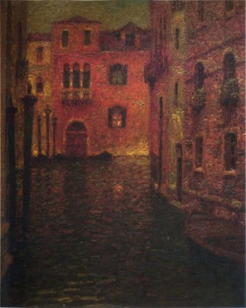 The Red Palace | Henri Le Sidaner | oil painting