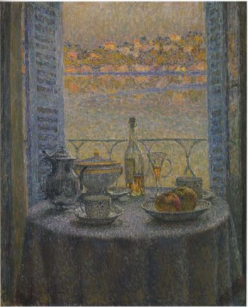 The Round Table | Henri Le Sidaner | oil painting