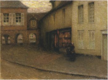 The Small Shop | Henri Le Sidaner | oil painting