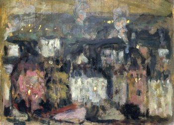 The Suburbs | Henri Le Sidaner | oil painting