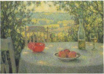 The Table | Henri Le Sidaner | oil painting
