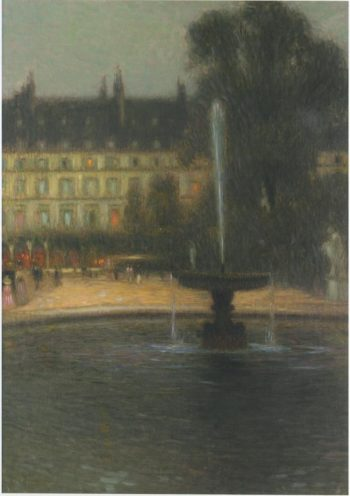 The Tuileries | Henri Le Sidaner | oil painting
