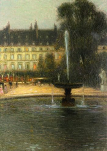 The Tuilleries | Henri Le Sidaner | oil painting