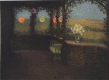 The Tunnel | Henri Le Sidaner | oil painting