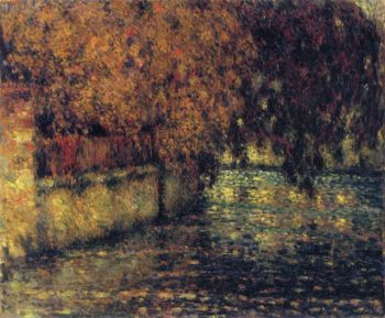 The Wall Autumn | Henri Le Sidaner | oil painting