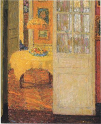 The Yellow Tablecloth | Henri Le Sidaner | oil painting