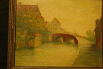 Unknown | Henri Le Sidaner | oil painting