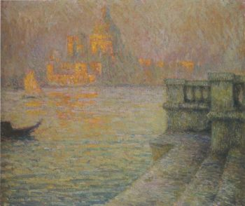 Venice in the afternoon | Henri Le Sidaner | oil painting