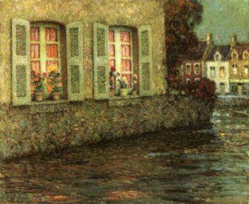 Windows | Henri Le Sidaner | oil painting