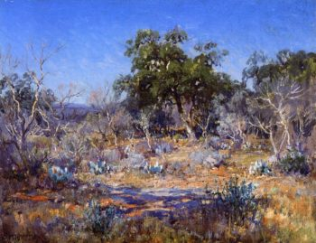 A January Day in the Brush Country | Julian Onderdonk | oil painting