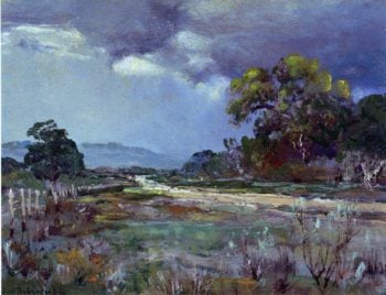 Approaching Rain Southwest Texas | Julian Onderdonk | oil painting