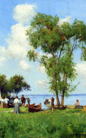 A Thousand Islands St Lawrence River | Julian Onderdonk | oil painting